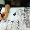 Akvarellitehnikate treening